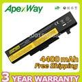 Apexway bateria do portátil para lenovo ideapad y480 y480a y480p y580 y580a Y580M Y580N Y580P V480U V580 V480 V580C para Borda E430 E530