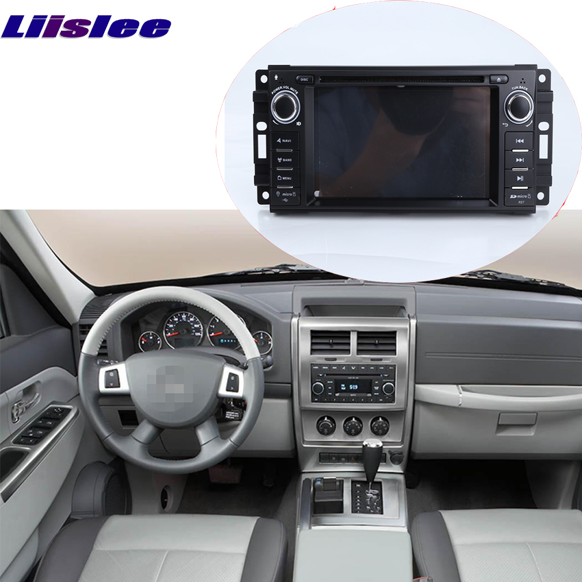 Liislee For Jeep Commander / <font><b>Grand</b></font> <font><b>Cherokee</b></font> Car Android system Navigation GPS Stereo Player HD Touch Screen Audio Video Radio image