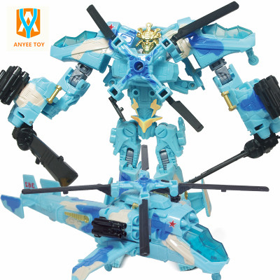 2017 Hot Sales Transformation Robot Planes Deformation Airplane Robots Action Figures Transformation children Christmas Gifts