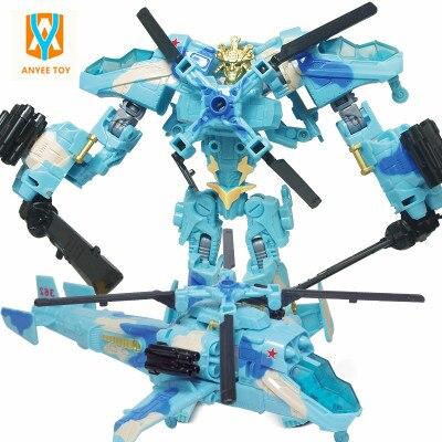 2017 Vendite Calde Trasformazione Robot Aerei Deformazione Airplane Robot Action Figures Trasformazione bambini Regali Di Natale