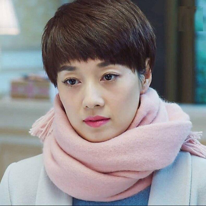 Classico donne inverno lana e cachemire sciarpa lunga nappa morbida semplice sciarpe calde