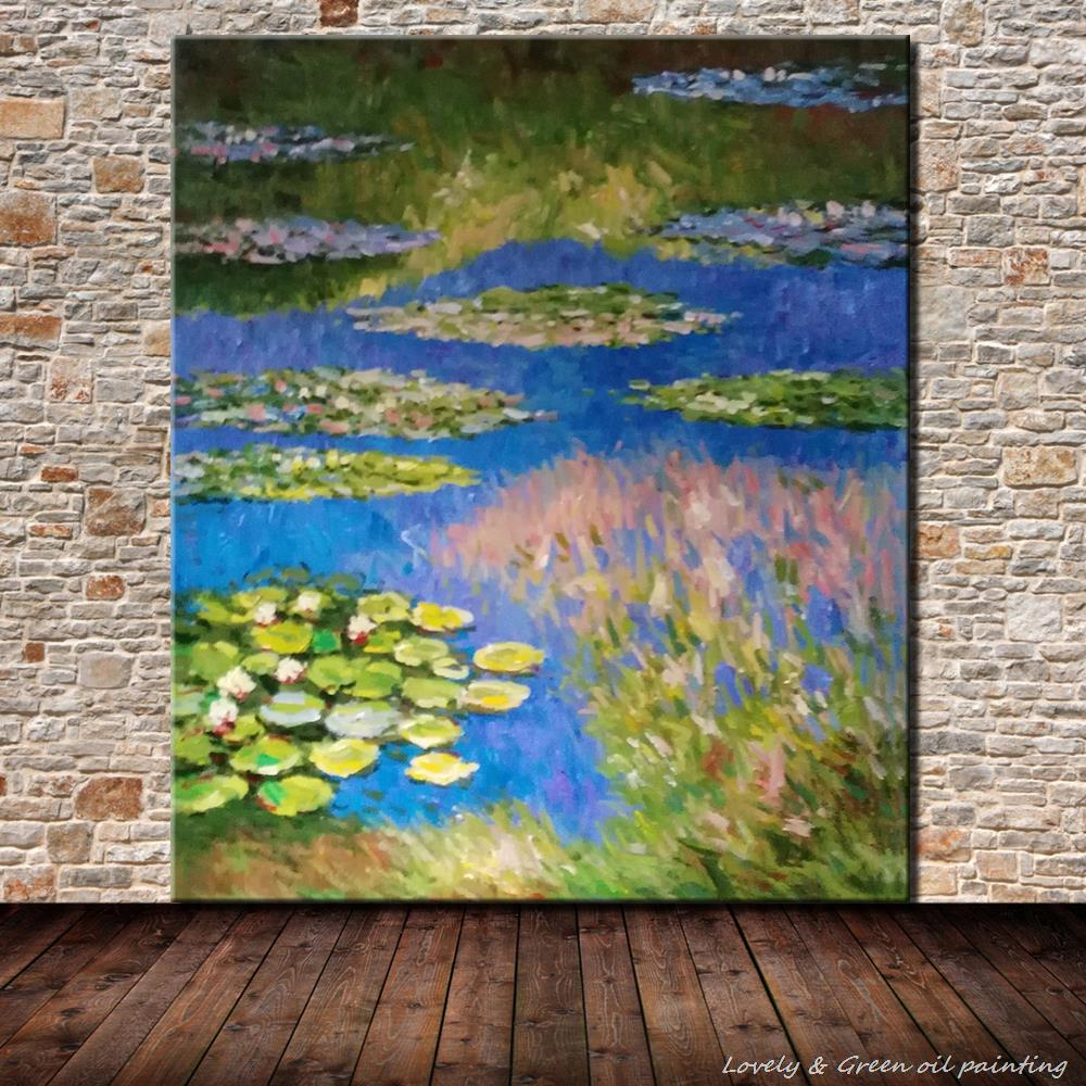 Frameless Canvas Art Oil Painting Flower Painting Design: Frameless Picture Hand Painted Oil Painting On Canvas Hand