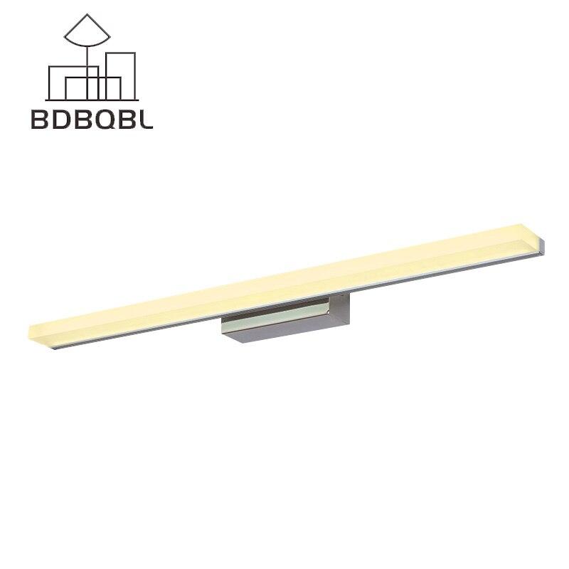 BDBQBL Modern Mirror Light Bathroom Wall Lamps LED Wall Mounted Lighting Fixture 019 019 кукла светский костюм в ассортименте