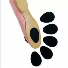 Pratical Anti Slip Pad Ground Grip Under Soles Stick Self-Adhesive Shoes Pads For High Heels Boots Women Man Shoes(China)