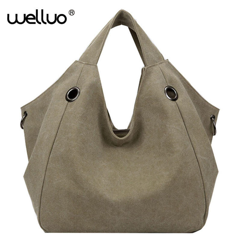 Women Shoulder Bags 2017 Bag Canvas Big Handbag Tote Shopping Bag Top-Handle Bag Sac a Main Femmes Bolsos Mujer Female XA883B weiju new canvas women handbag large capacity casual tote bag women men shoulder bag messenger crossbody bags sac a main