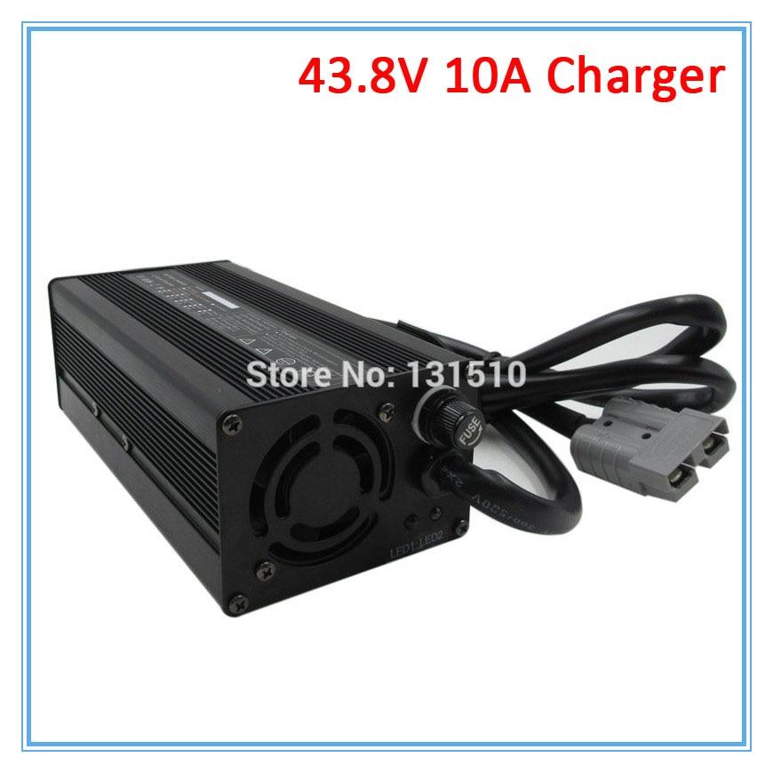 600 W 43,8 V 10A LiFePO4 умное зарядное устройство 36 V 10A быстрое зарядное устройство с вентилятором, используемым для 12 S 36 V LiFePO4 литий железо фосфатный
