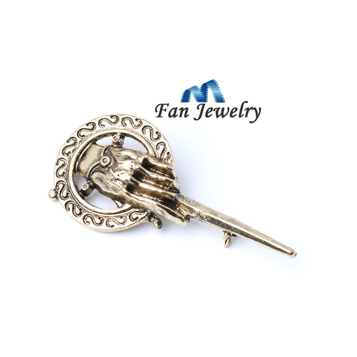 Popular Song Of Ice And Fire Game Of Thrones Hand Of the King Brooch XZ614