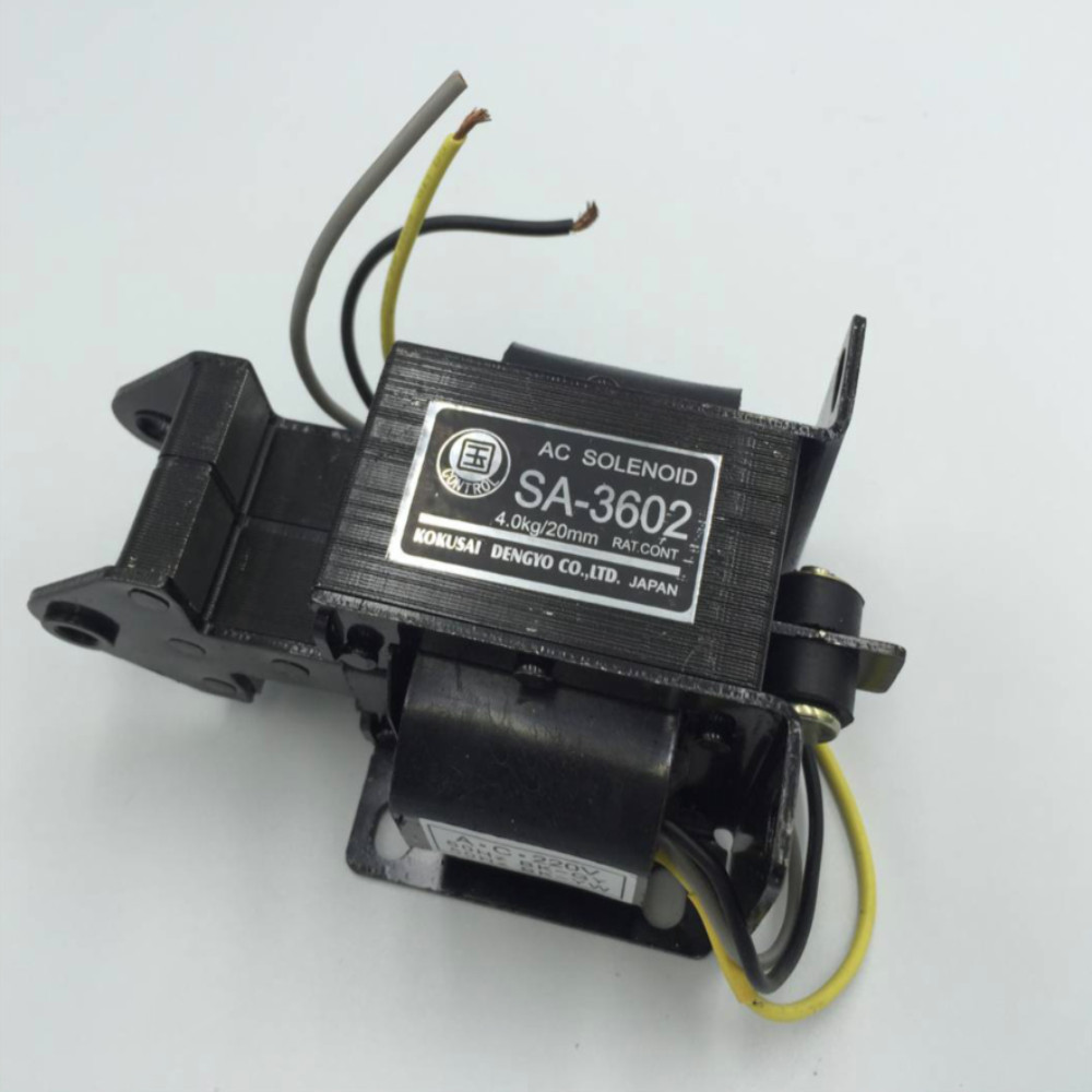SA 3602 Energy Saving AC Solenoid Tractive Electromagnet AC220 AC110V
