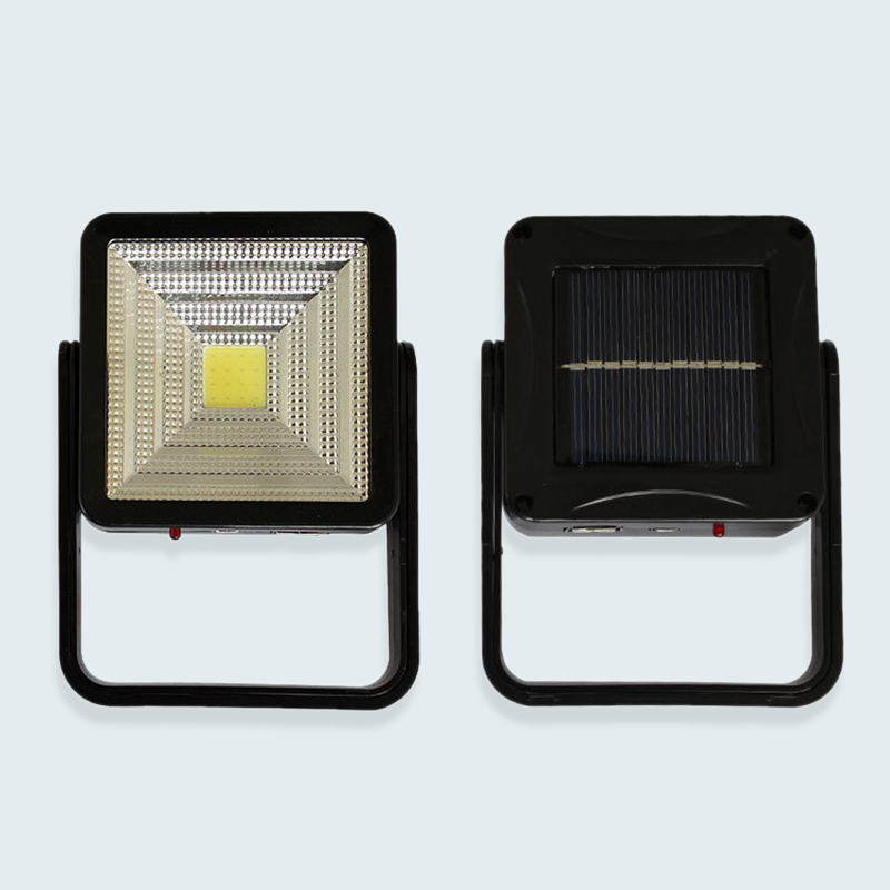 USB Rechargeable Solar LED Integrated Emergency Camping Light Tent Lamps 2W DC5V