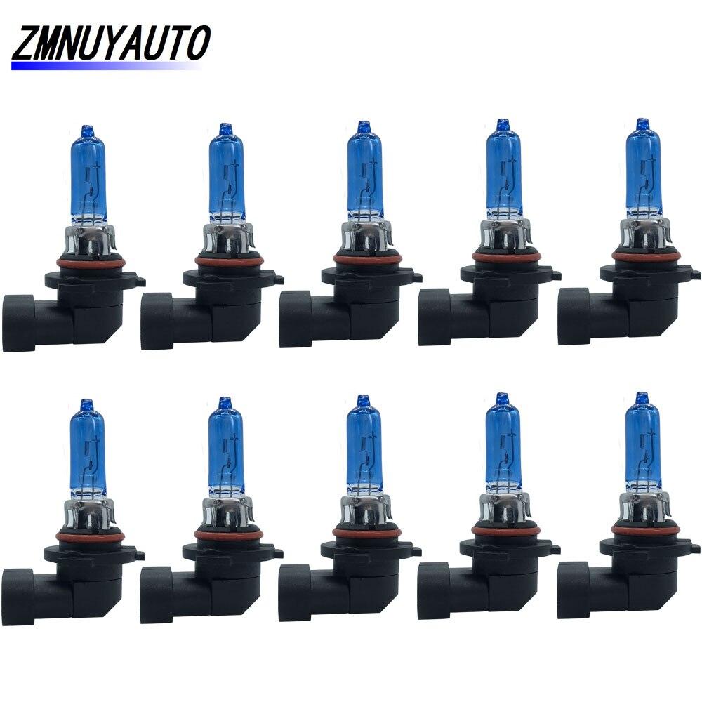 10pcs HB3 9005 Car Halogen Bulb Fog Light 55W 100W Car Light 5000K Auto DRL Day