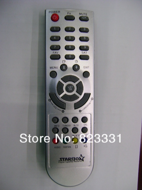 Free shipping SET-TOP-BOX  STAR BOX Digital Satellite Receiver remote control