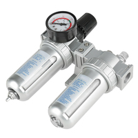 G1/2 Air Compressor High Filter Trap Oil Water Separator Regulator Gauge