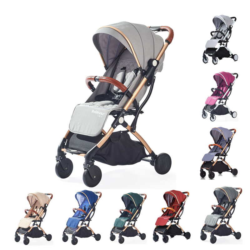 Babyyoya Tianrui Lightweight Portable Folding Baby Stroller Can Sit Can Lie One Key Operation Small And Light Easy For Travel