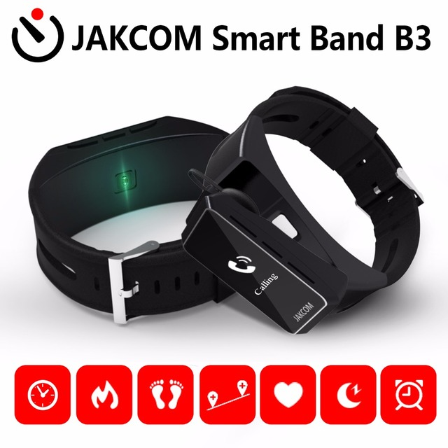JAKCOM B3 Smart Band can be used as Smart Watch Heart rate testing Bluetooth earphone Compatible for iPhone and Android 3 Colors
