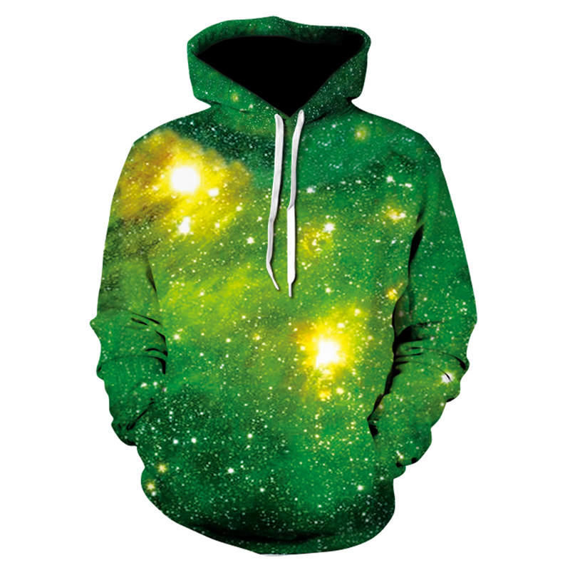 Space Galaxy Hoodies Hooded Men/Women Hat 3d Sweatshirts Print Colorful Nebula Thin Autumn Sweatshirts Hip-Hop Hoodies Dropship