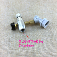 Homebrew kegging,Premium Regulated CO2 Charger with ball lock fitting,mini CO2 Regulator,5/8 thread co2 thread