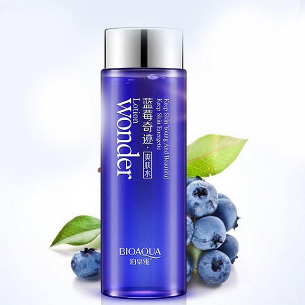 Clareamento da Pele Toner Poros Hidratante Cuidados Blueberry