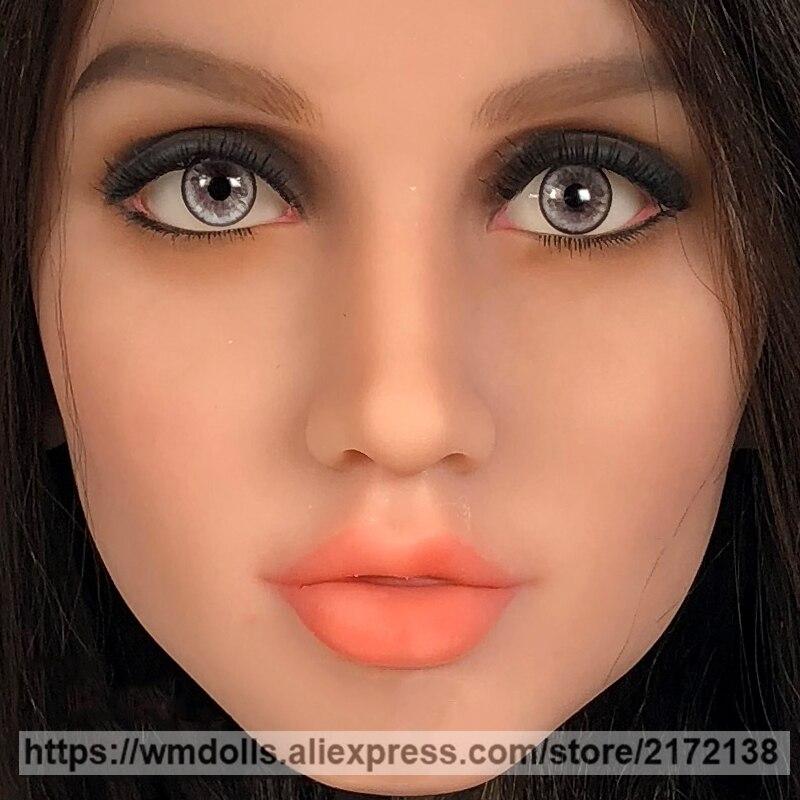 WMDOLL Gray Eye with Love Doll Lifelike Sexy Eyes Silicone Sex Dolls Adult Real DollWMDOLL Gray Eye with Love Doll Lifelike Sexy Eyes Silicone Sex Dolls Adult Real Doll