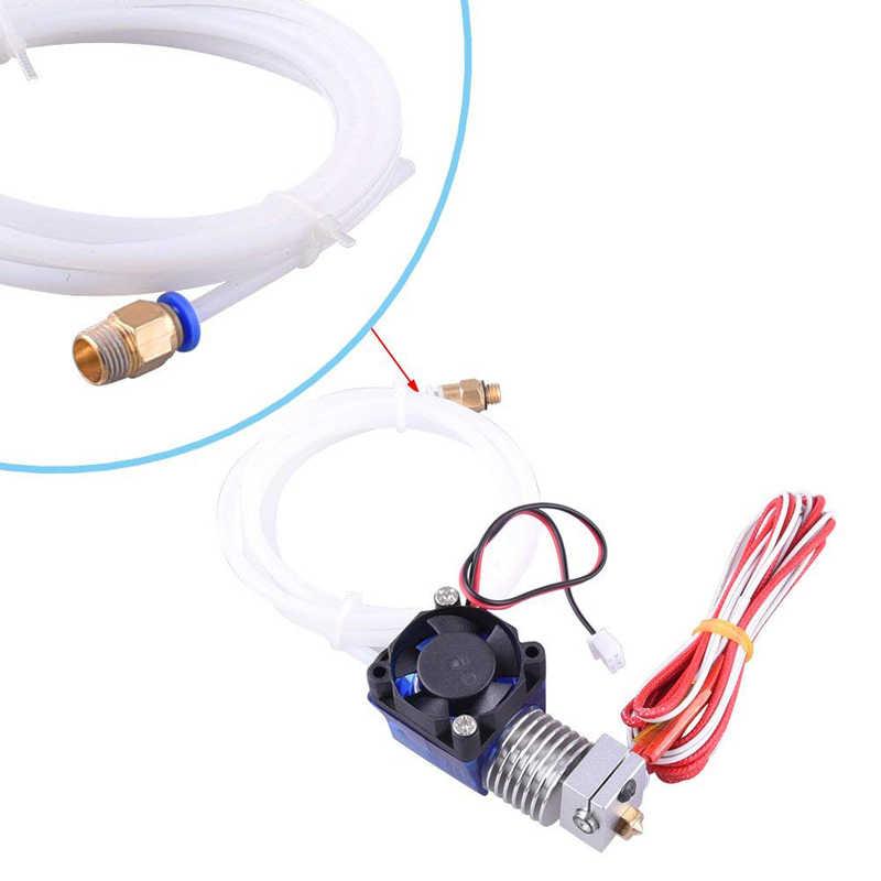 1 M PTFE Buis Teflon Pijp Connectors 3D Printers Onderdelen J-head Hotend Voor V5 V6 1.75mm 3.0mm Filament Bowden Lange Extruder Deel