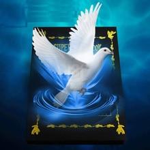 Metamopho Dove/цветок из книги Крупным планом сценические фокусы для профессионального волшебника магические игрушки для детей лучший подарок