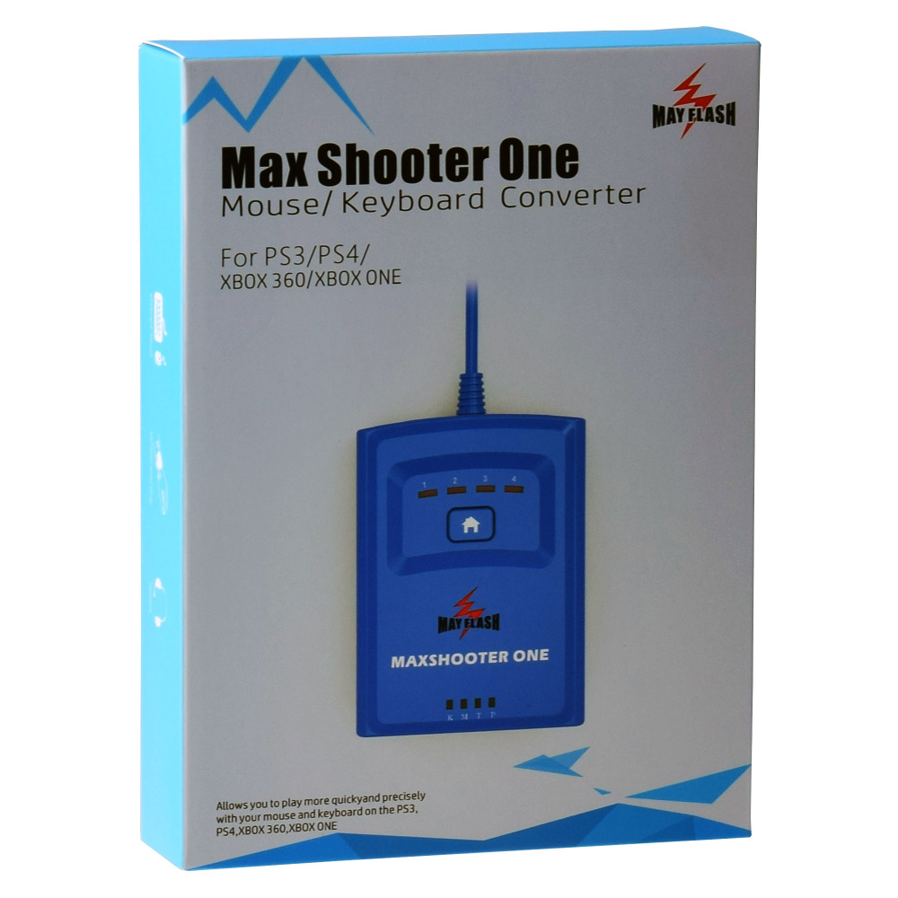 Mayflash Max Shooter ONE Mouse Keyboard Converter Adapter for PS3 PS4 XBox 360 XBox One Xbox