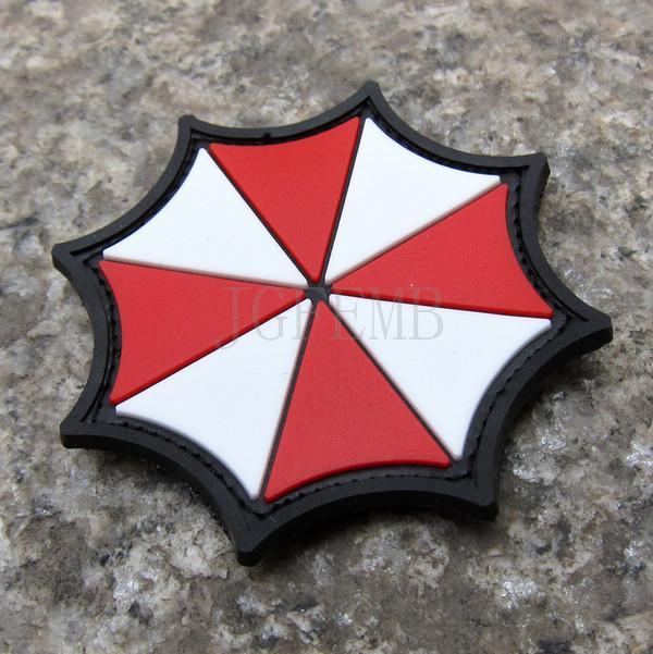 Biohazard Resident Evil Umbrella Corporation Logo 3d Pvc Patch