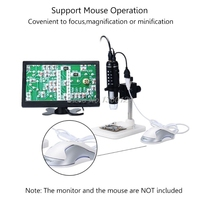 1000X Digital HDMI Microscope 5MP HD 1080P 8LED Light Camera Magnifier Endoscope Dec12 Dropship