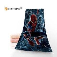 Высокое качество Паук Для мужчин микрофибра тряпка для ванной комнаты, Полотенца s полотенце для лица на заказ/ванна Полотенца Размер 35 x75cm, 70x140 см