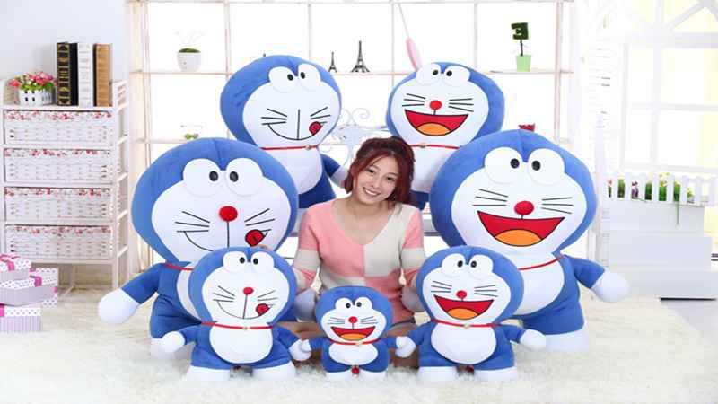 stuffed toy , Doraemon plush toy throw pillow Christmas gift h197