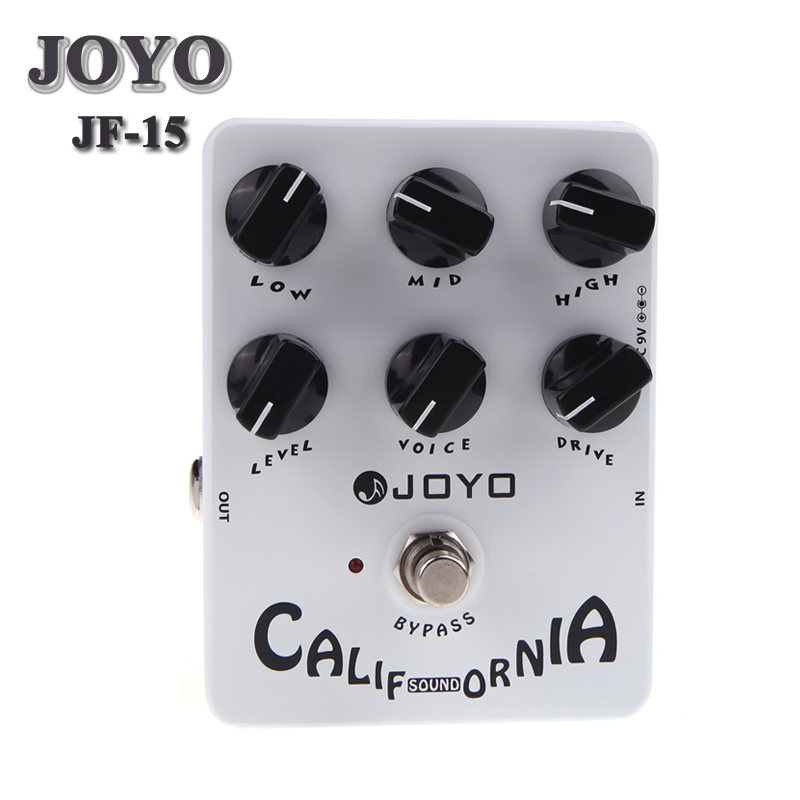 Joyo JF 15 California Sound Distortion Guitar Effect Pedal True Bypass-in Guitar Parts & Accessories from Sports & Entertainment on AliExpress - 11.11_Double 11_Singles' Day 1