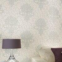 3d Papel De Parede Wall Grey Wallpaper Rolls For Living Room Europe Damask Non Woven 3d