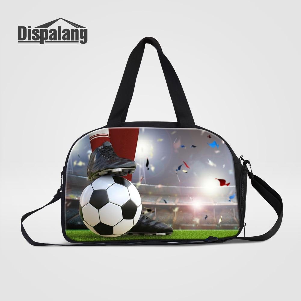 Men Travel Bag Hand Luggage Duffle Bag With Shoes Unit Soccers Footballs Basketballs Canvas Weekend Bags Overnight Shoulder Bag