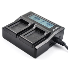 DuraPro LCD Twin Channel Charger for Sony NP-FW50 Battery and Sony A3000 A5000 A5100 A6000 A33 A55 A7R ENX6 ENX3 ENX5 ENX75T 5R