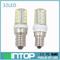 5pcs/lot Mini E14/E12/B15/G9 LED Bulb Lamp 220v 3W 32Pcs Led SMD2835 Silicone Body Light Replace Halogen Lamp Chandelier Lights