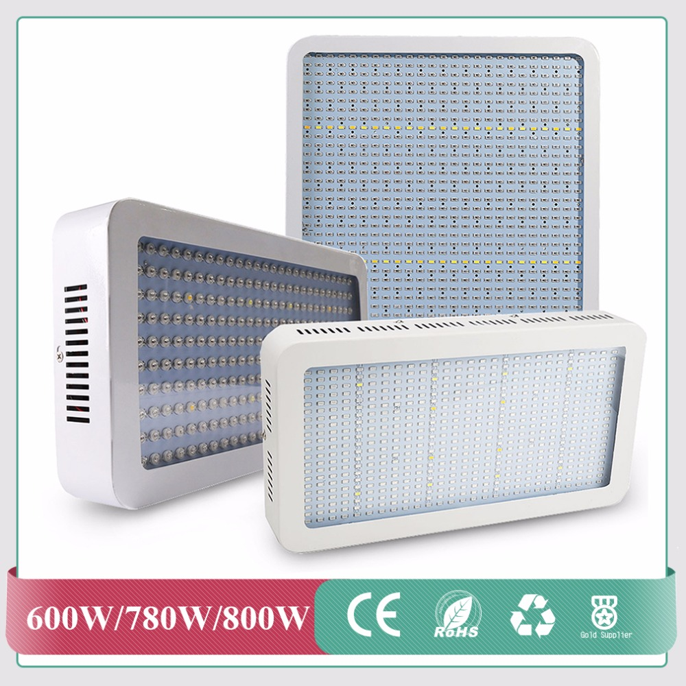 600W 780W 800W LED Grow Light High Power Full Spectrum LED Grow Lights For Greenhouse Indoor Plants Flowering And Growing 3pcs lot high power full spectrum 216w ufo led grow light for plants flowering lighting 42red 12blue 6warm white 6white 3ir 3uv