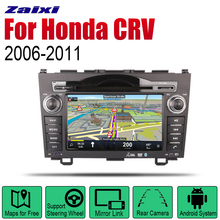 Auto Radio 2 Din Android Car DVD Player For Honda CRV 2006~2011 GPS Navigation BT Wifi Map Multimedia system Stereo 8 core android 8 1 car dvd player multimedia for honda pilot 2009 2010 2011 2012 auto radio 2 din fm gps navigation video stereo