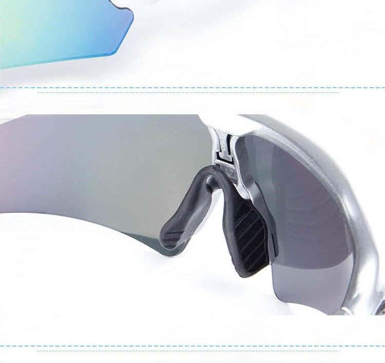 cecb445aeb846 Obaolay óculos 5 Lentes Set MTB Da Bicicleta Da Bicicleta Óculos De Sol  Óculos de Ciclismo Óculos Polarizados Óculos de Esportes Ao Ar Livre  Bicicleta ...