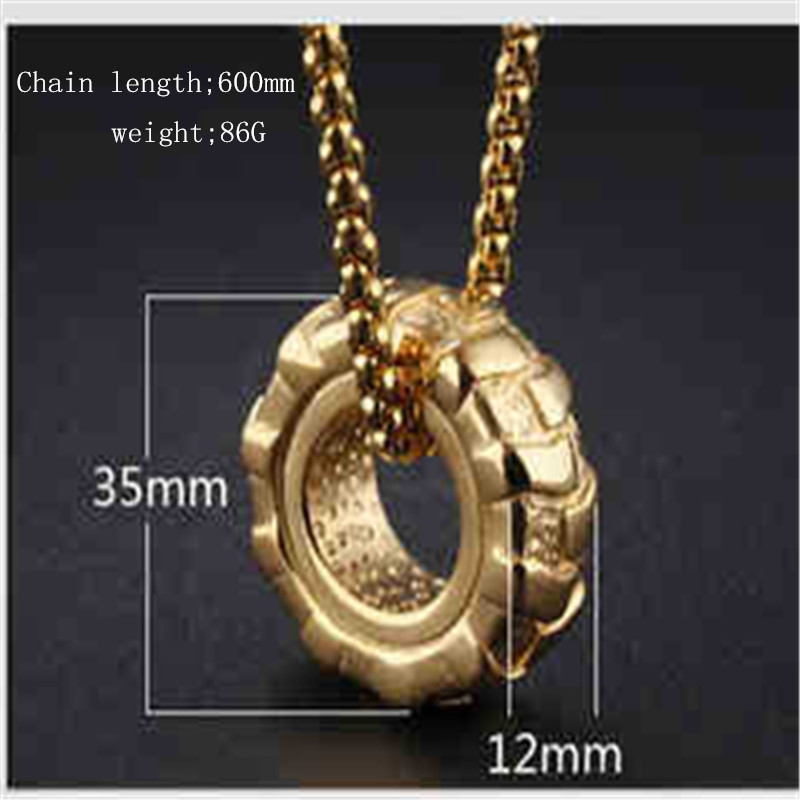 Fashion Jewelry Man Pendant Necklaces Punk Tyre Design 316L Stainless Steel  Sports Men party Jewelry Gift-in Pendant Necklaces from Jewelry    Accessories on ... 91be8669998f