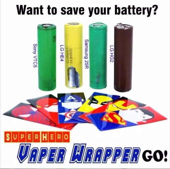 Leiqidudu 18650 батареи защищены <font><b>wrapper</b></font> Super Hero батареи наклейку кожи для электронной сигареты батареи электронной сигареты Человек-паук Капитан Амер&#8230;