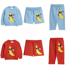 2019 Mr Bobo Choses Summer Baby Kids Clothing Cartoon Fashion Children Suit Kid Sets Toddler Boy Girls Clothes Boutique Outfits(China)