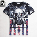 Famous Movies Star Wars Men T Shirt Master Funny Tee Techno Headphones Fashion summer style quick dry 3D cool male tee shirts
