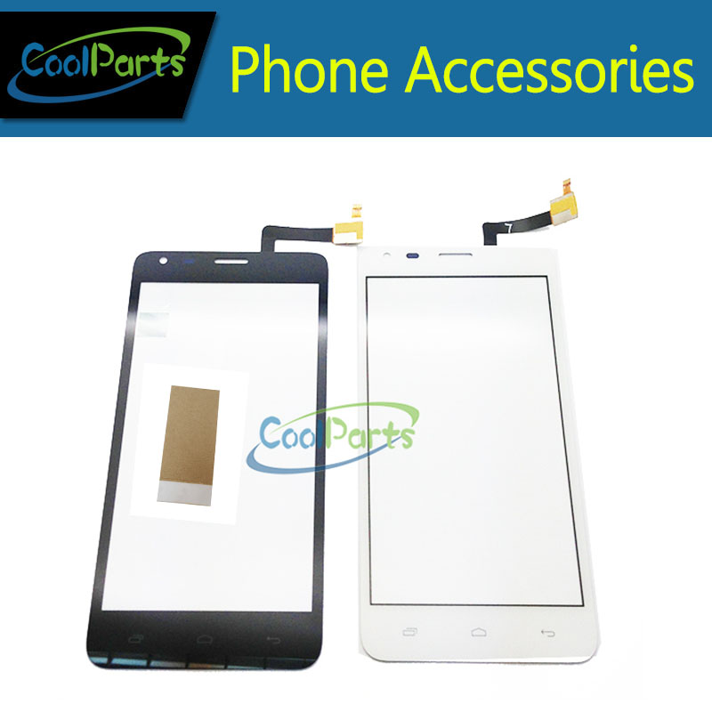 1PC/Lot High Quality For Fly Q 456 ERA Life 2 IQ456 Touch Screen Digitizer Repair Glass Panel With Tape Black And White Color