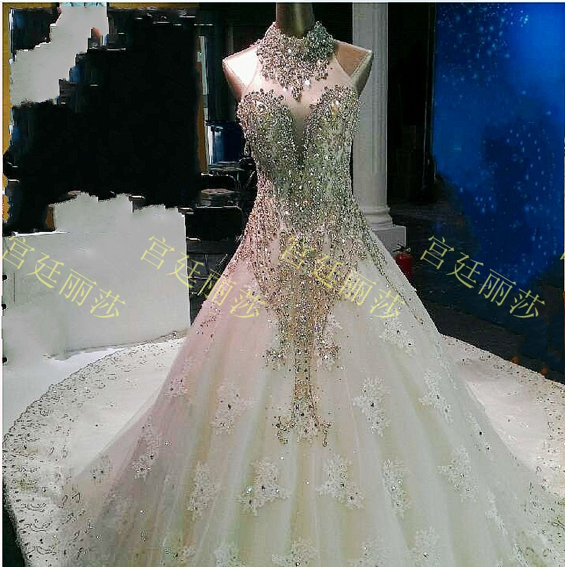 Compare prices on sparkly wedding dresses online shopping for Diamond sweetheart wedding dress