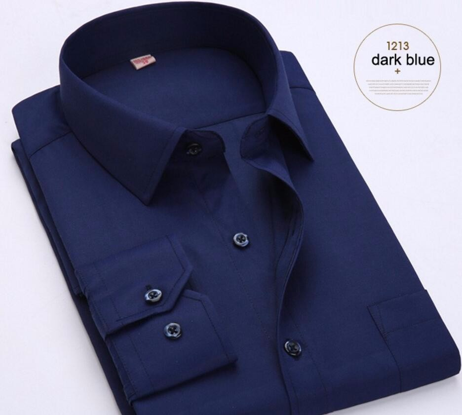 16.1 High quality customized design classic single-breasted long-sleeved shirt wedding occasions formal suit shirt fashion style