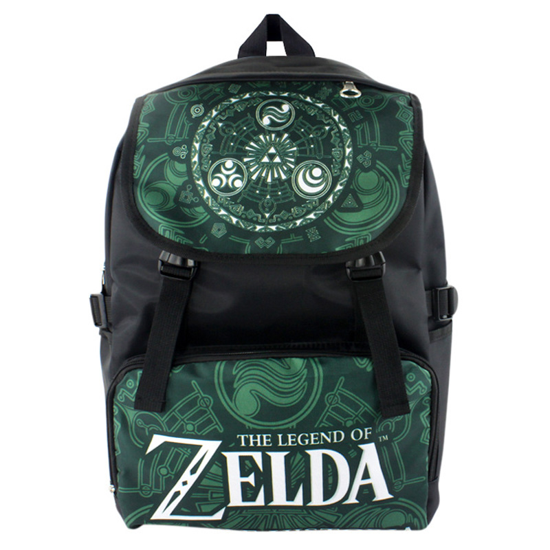 Anime The Legend of Zelda Waterproof Laptop Backpack/Double-Shoulder Bag/School Bag черепаха плетёная zelda