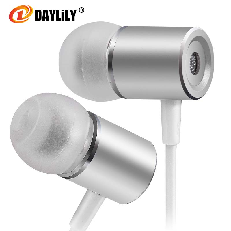 New hot headphones microphone fone de ouvido Sport earphone  auriculares phone  bass Earphones Mp3 Metal magnet music headset pc