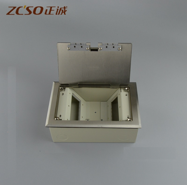 Recessed Floor Box - Power and Low Voltage, Data, Video/Audio Recessed Floor Box - Power and Low Voltage, Data, Video/Audio
