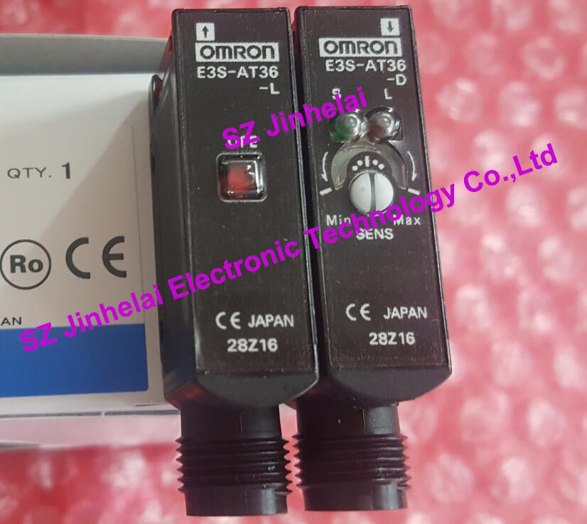 100% New original  E3S-AT36  OMRON photoelectric switch (product need 4-5 weeks delivery time) [zob] 100% new original omron omron photoelectric switch e3s vs1e4 e3zm v61 2m substitute