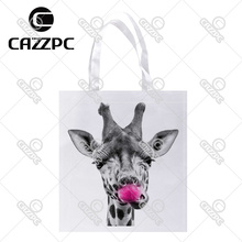 on Pink Giraffe Fabric