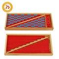 Монтессори детская игрушка высокого качества маленькие числовые стержни дошкольного образования обучающие игрушки для детей